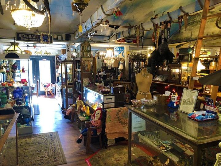 main room of shop