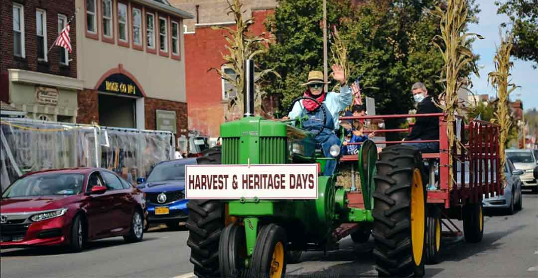 Honesdale Harvest and Heritage Days POSTer