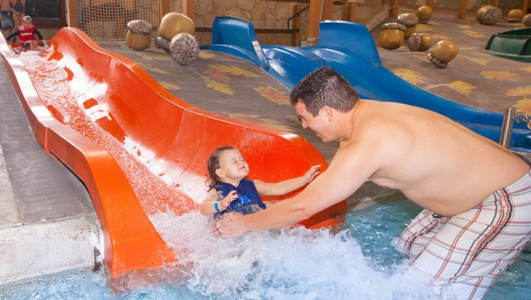 Great Wolf Water Park whooping-hollow