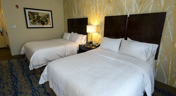 Hampton-Inn-&-Suites-Bartonsville-double-queen-room