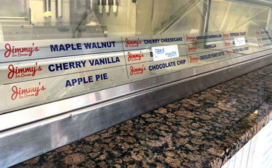 Jimmys-Ice-Cream-and-Creamery-ice-cream-counter