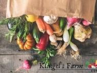 klingel's farm and produce stand sack of fresh produce