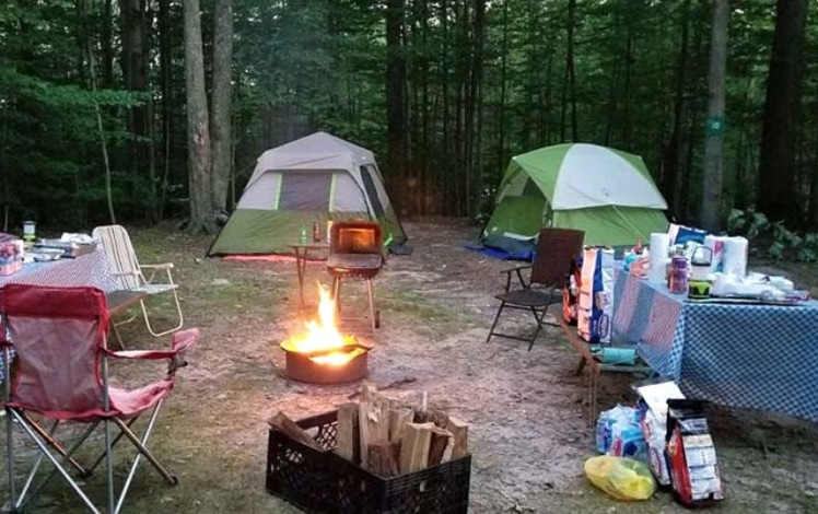 Lehigh-Gorge-Campground-tent-sites