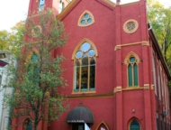 Mauch-Chunk-Museum-Cultural-Center-in a church