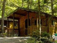 Mountain-Vista-Pocono cabins on the hillside