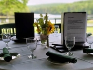 On-the-Green-Bar-and-Grille-table-on-deck-overlooking-golf-course