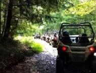 Pocono-Outdoor-Adventure-Tours-line-of-utvs-on-a-path