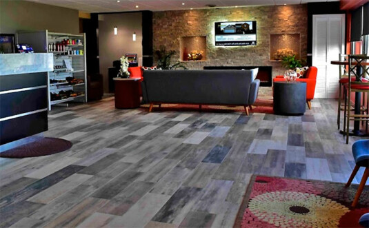 Quality Inn East Stroudsburg lobby
