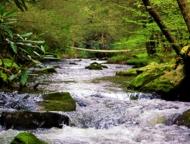 Roundstone-Camping-Resort-waterfalls-on-stream