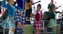 Shawnee Celtic Festival dancers