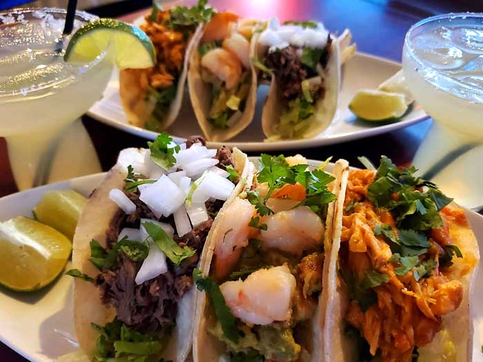 plates of tacos