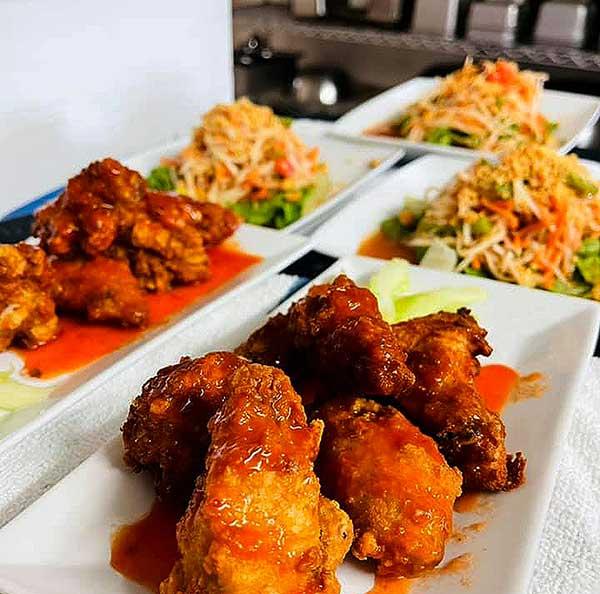 thai chicken appetizer
