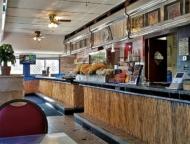 old diner interior