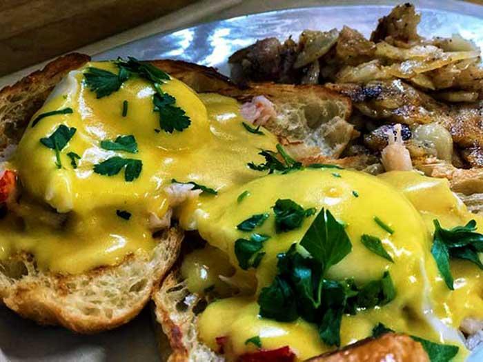 Village-Diner-Milford-lobster-egg-benedict