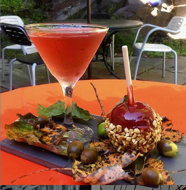 cafe-arielle-at-stabin-museum-candied-apple-and-martini