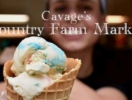 cavages-country-farm-market girl with ice cream cone