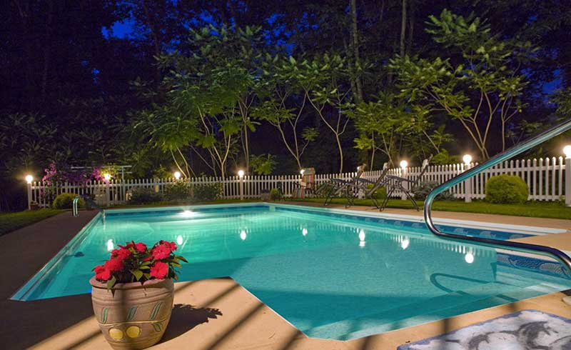 cherry-valley-manor-outdoor-pool-at-night