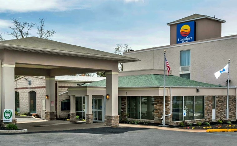comfort-inn-white-haven-exterior