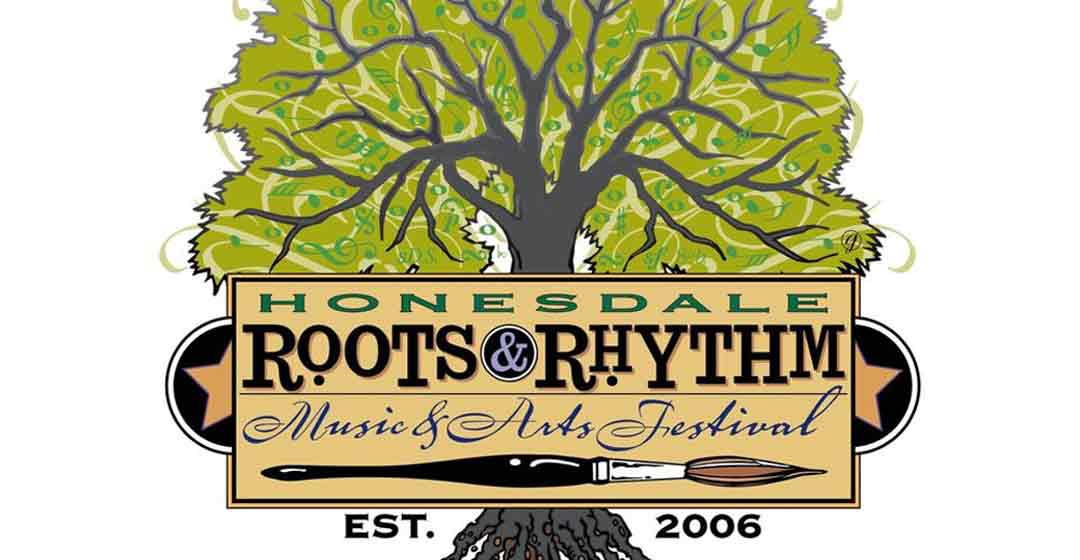 honesdale roots and rhythm festival poster