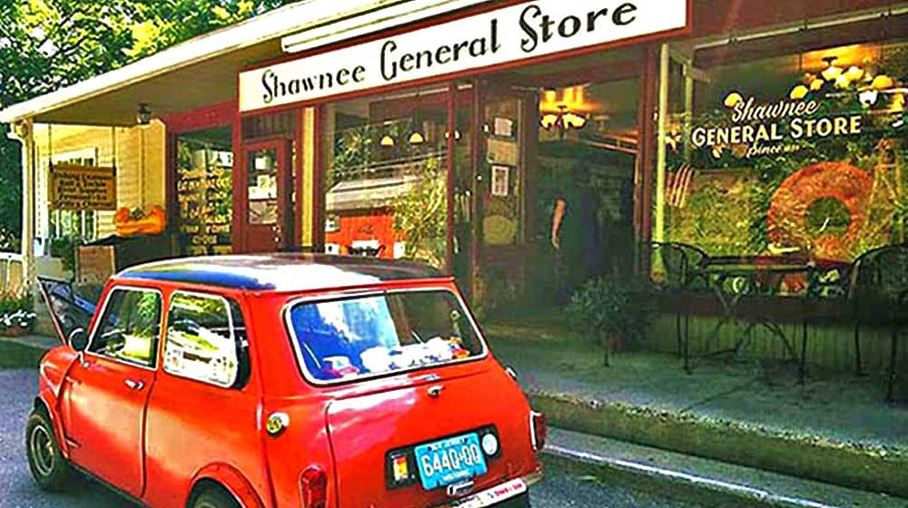 shawnee general store exterior