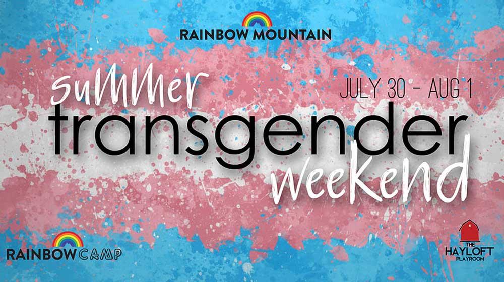 transgender weekend poster