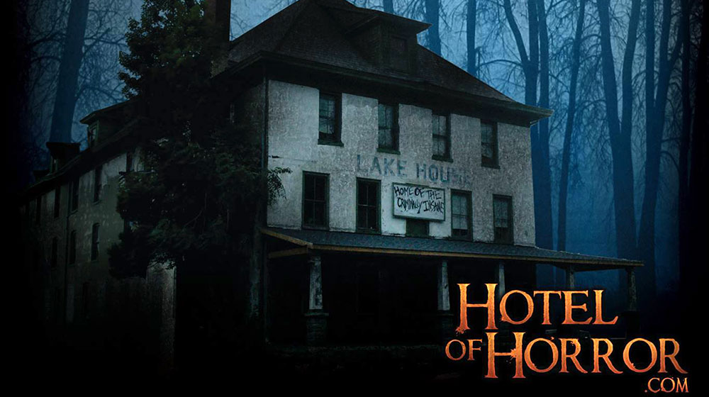 hotel of horror exterior of the lake hotel