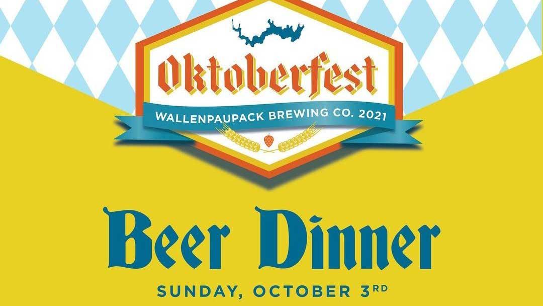 wallenpaupack brewery oktoberfest beer dinner poster