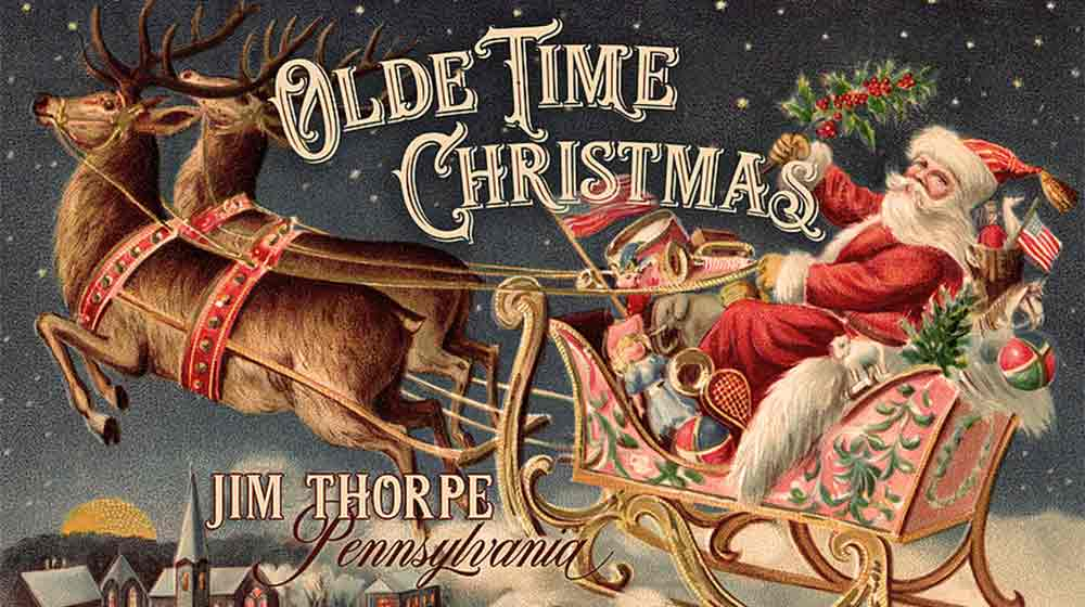 olde time christmas weekends poster