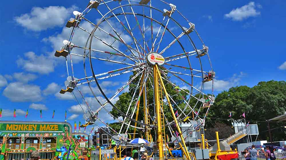 ferris wheel on the midway