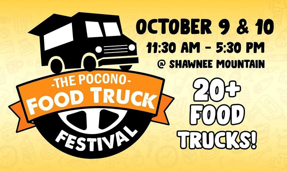Pocono Food Truck Festival poster