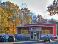 exterior of store