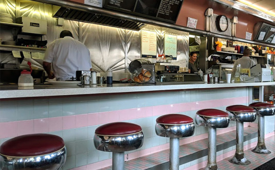 hawley-diner cook at counter