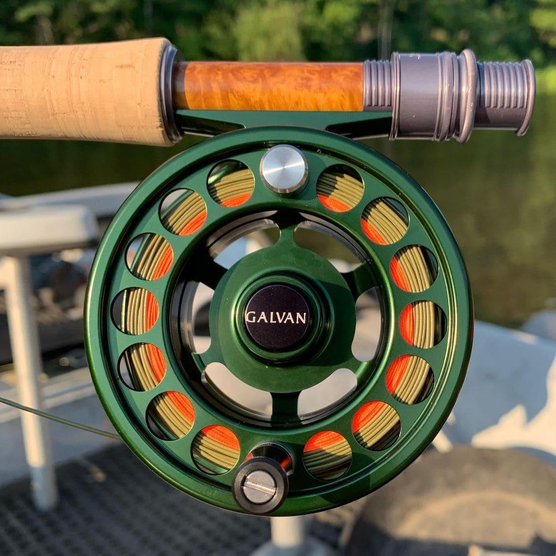 housefly fishing galvan fly wheel