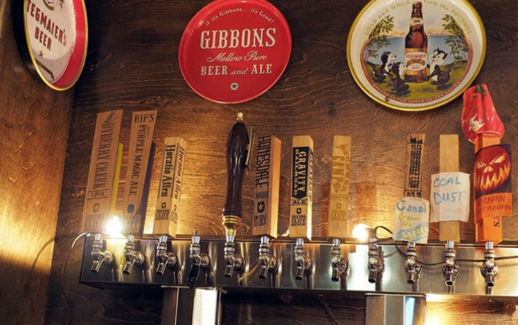 irving-cliff-brewery-taps