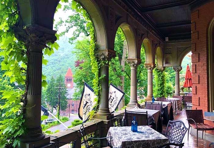 jim-thorpe-porch-harry-packer-mansion