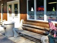 exterior of ice cream shop
