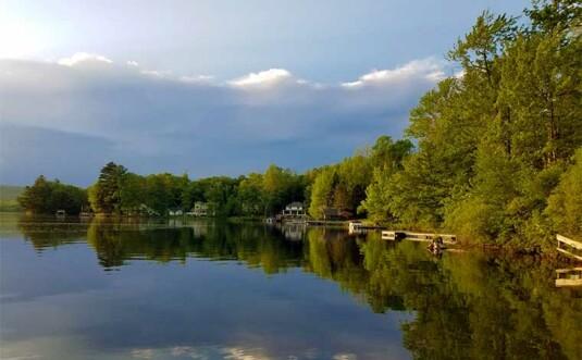 lake henry shoreline