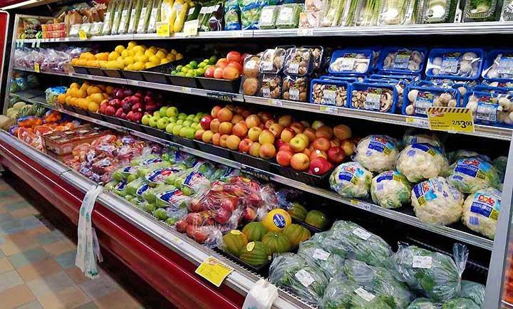 lewis supermarket produce case