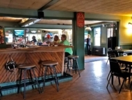 interior bar and tables