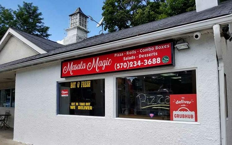 masala magic building exterior