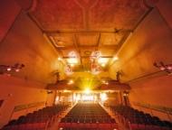 beaux arts opera house interior golden tones