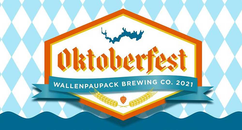 oktoberfest wallenpaupack brewing company poster