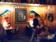 overboards restaurant dining room