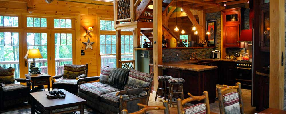 Paupack Lodge at Silver Birches kitchen