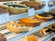 cheesecake in main bakery case