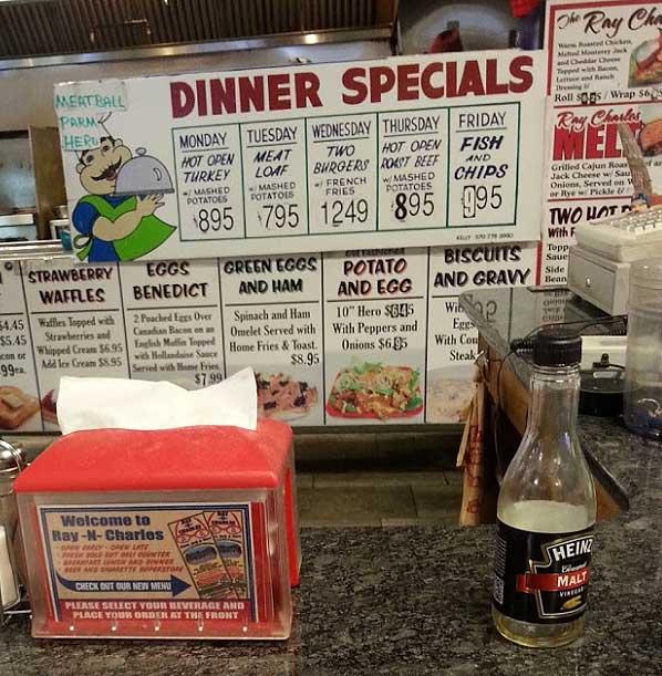 ray-n-charles-milford-menu-board