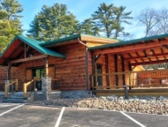 exterior restaurant and deck