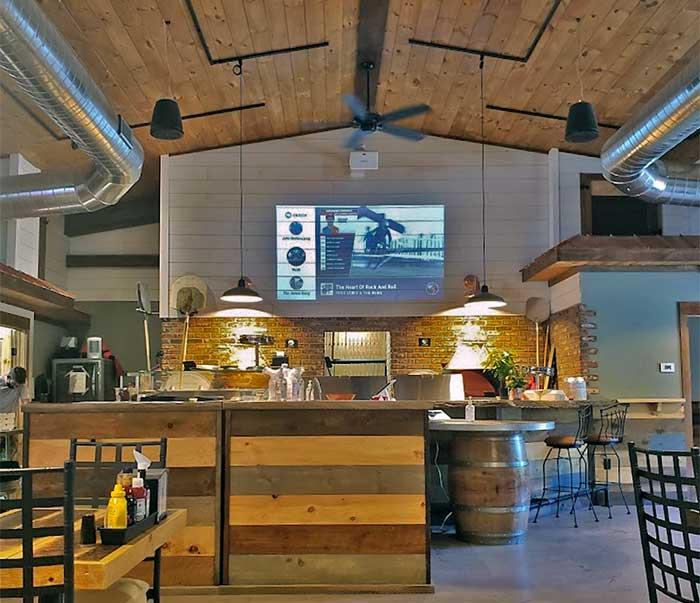 ringside fire grill interior bar