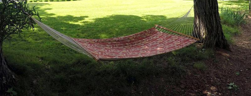 roebling-inn-hammock between two trees