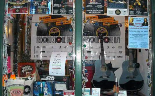 soundcheck-records-jim-thorpe shop window